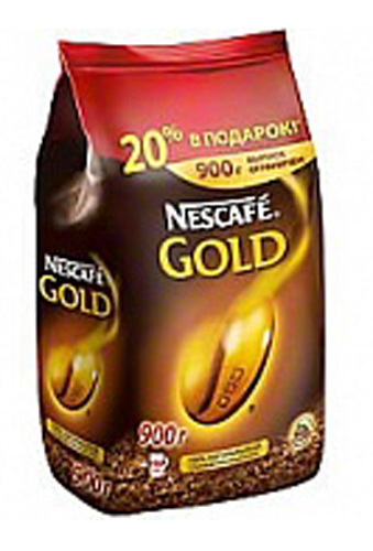 фото Кофе Nescafe Gold 900г - купить